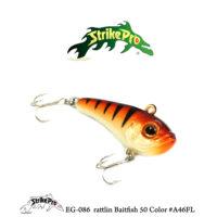 EG-086 rattlin Baitfish 50 Color #A46FL