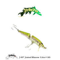J-007 Jointed Minnow Color # 305
