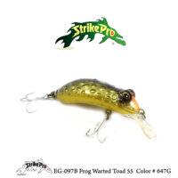 EG-097B Frog Warted Toad 55 Color # 647G