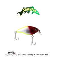 EG-165F Cranky-X 50 Color # X10