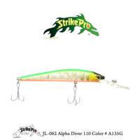 JL-062 Alpha Diver 110 Color # A135G