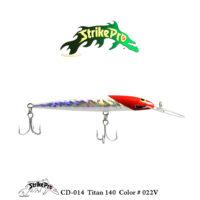 CD-014 Titan 140 Color # 022V
