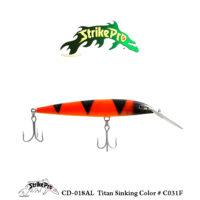CD-018AL Titan Sinking Color # C031F