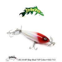 EG-014P Skip Shad 75P Color # 022-713