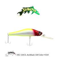 EG-125CL Archback 120 Color # X10