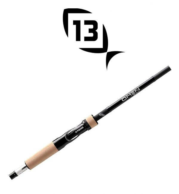 CAÑA 13 FISHING OMEN BLACK