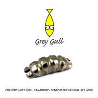 CUERPOS GREY GULL CAMARONES TUNGSTENO NATURAL Ref 6000