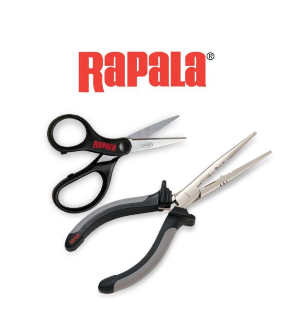 Combo Pinza y tijera RAPALA RTC-6SPLS